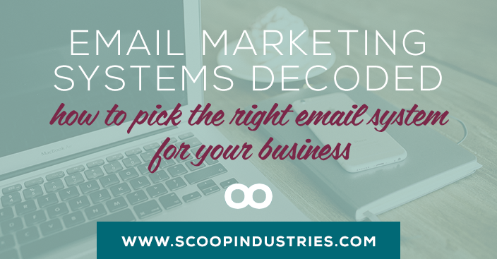 Email Marketing Systems Resource || From Mailchimp to Infusionsoft we've decoded all the different email marketing systems so you can pick the right one for your business. *Pin* this resource and use it as your business grows.
