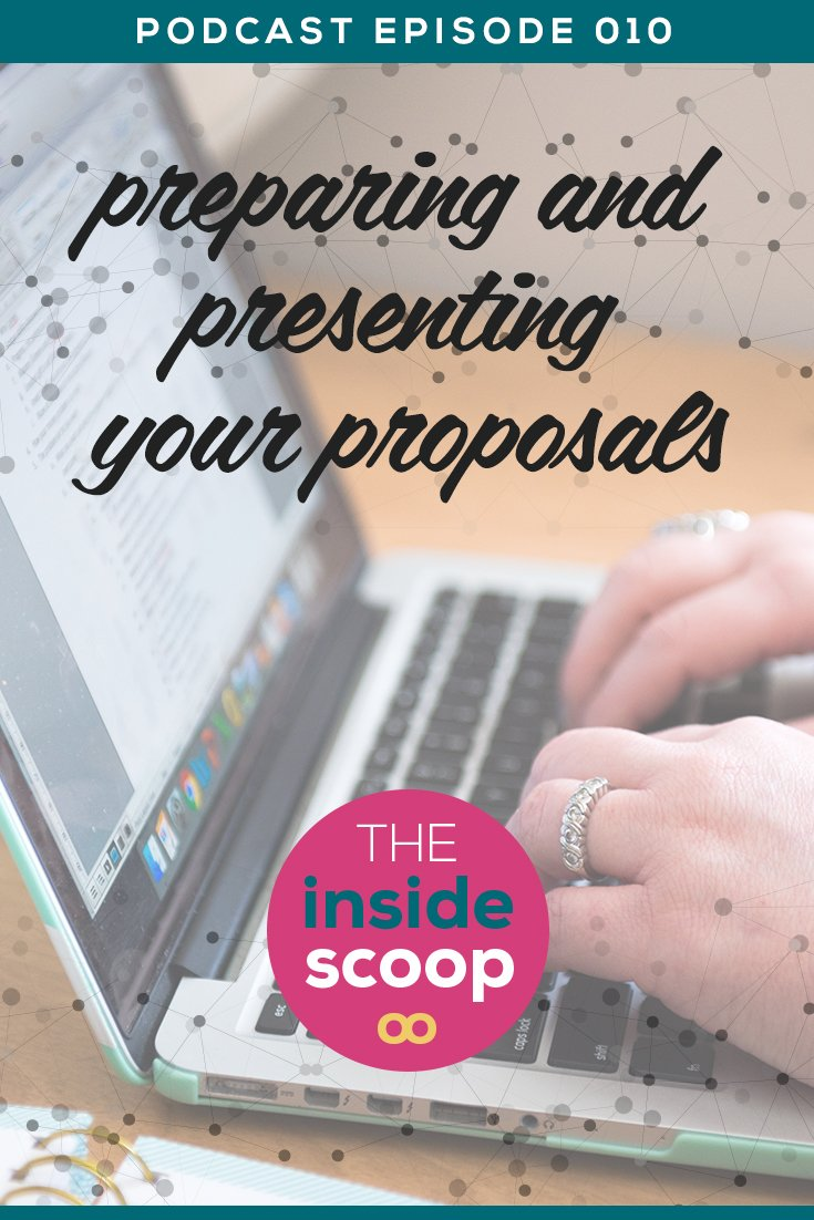 Are you being crystal clear? Proposals are critical to many service-based businesses which is why we're giving you 'The Scoop' about the ins and outs of Proposal writing. Listen in and *PIN* these practical tips you can implement today.