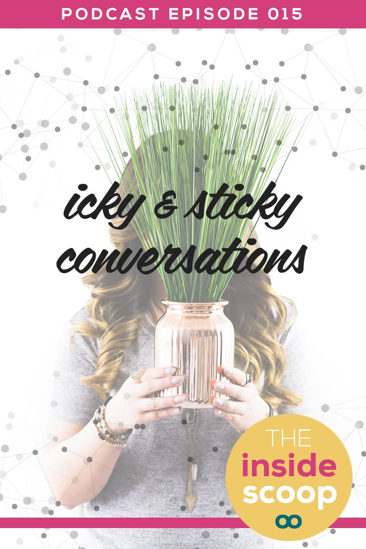 Pin this + find out the best ways to handle those icky, sticky conversations with clients. We all make mistakes and miscommunication is common, but handling the fallout can seem overwhelmingly complicated. We break it down for you in this super-helpful podcast episode.