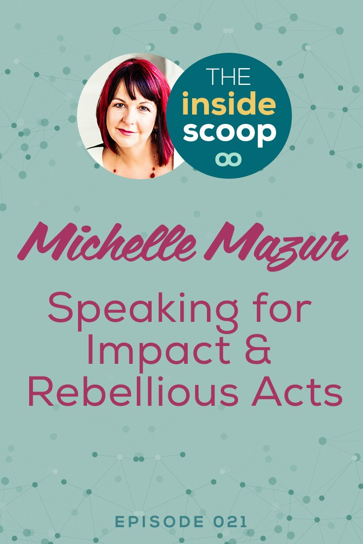 *Pin This* Going full-time in your biz and leaving your 9 to 5 can be a big leap of faith. Hear how Michelle made it happen, how she runs her business and how she keeps it real as she grows her business. She shares tips on speaking, building your online business and more -