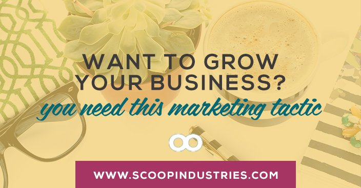 Want to Grow Your Business? You Need This One Marketing Tactic.