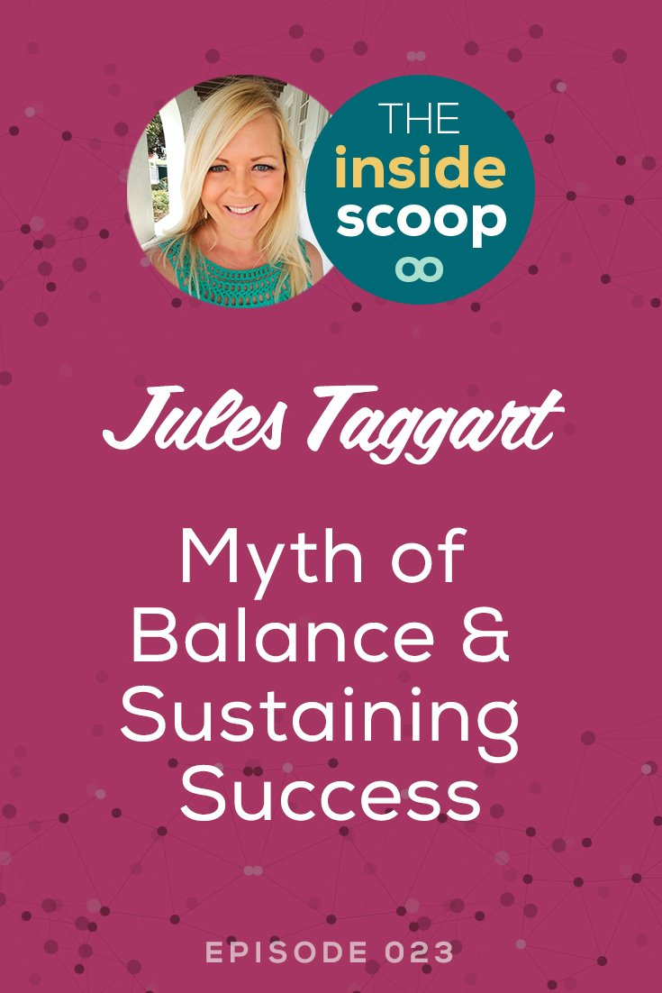 Pin this + discover how Jules Taggart balances her time between working on her business, in her business, cultivating prospective clients, + having 2 young daughters at home. This is one episode every mompreneur will not want to miss!