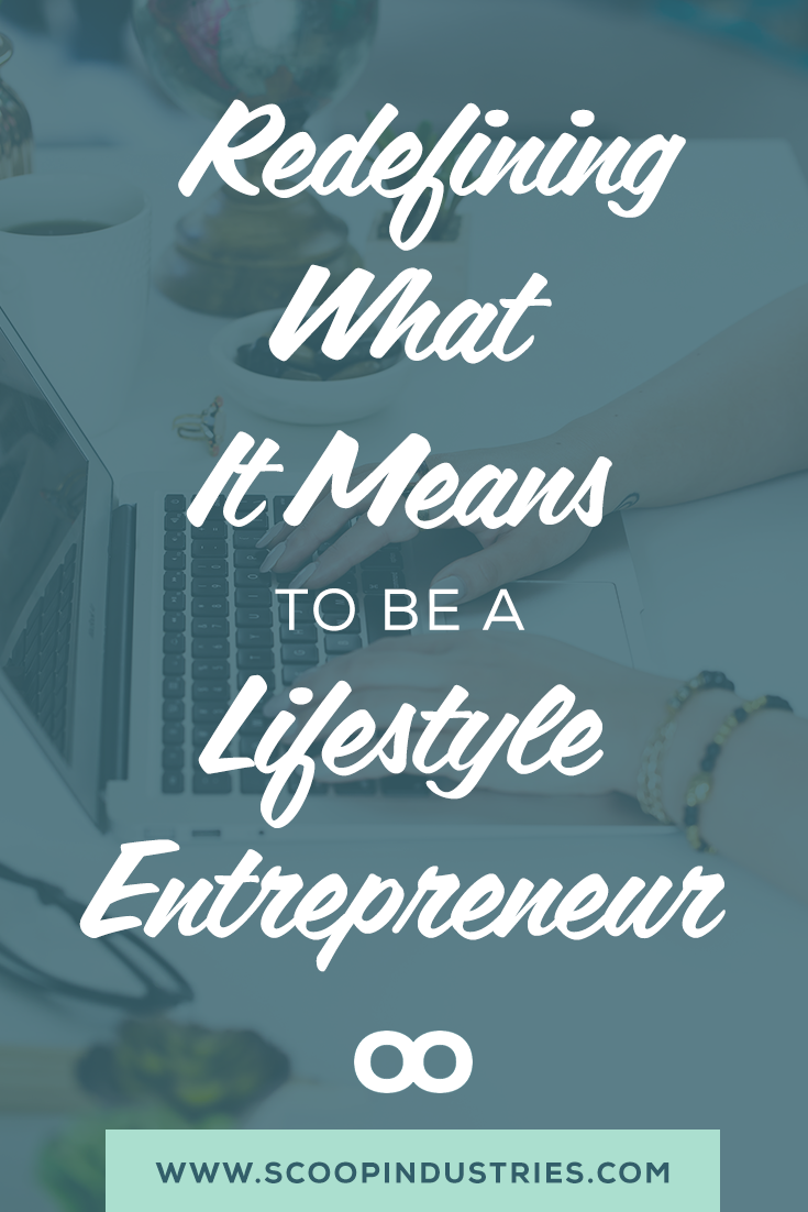 "As a solo business owner, it sometimes feels like everyone has an opinion on what you ""should"" be doing with your business. But owning your own business means you get to do things on your terms, your way. Pin this post to see how we are redefining what it means to be a ""lifestyle"" entrepreneur and you can too. *Pin now and save for later*"