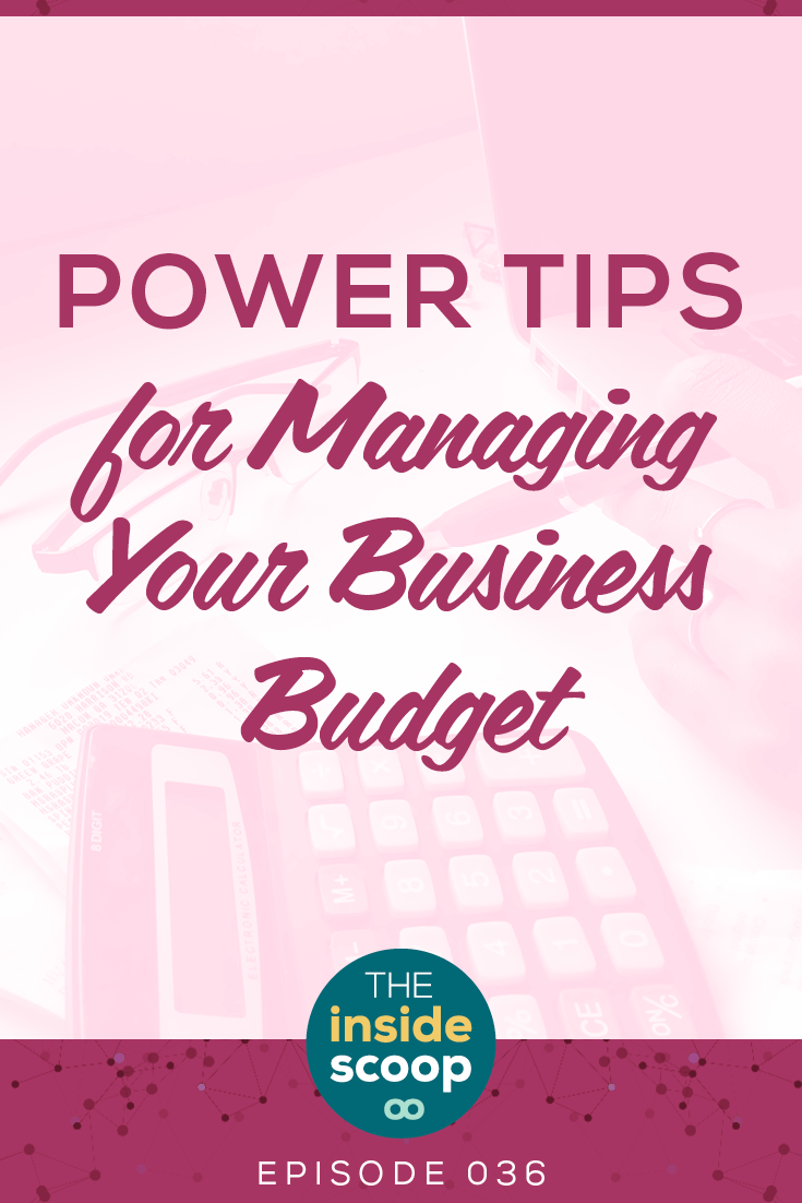 Your business needs a budget. Even if you're a freelancer or a solopreneur. If you want to make more money, a budget will help you build a plan for success in your services business. Pin now, listen later.