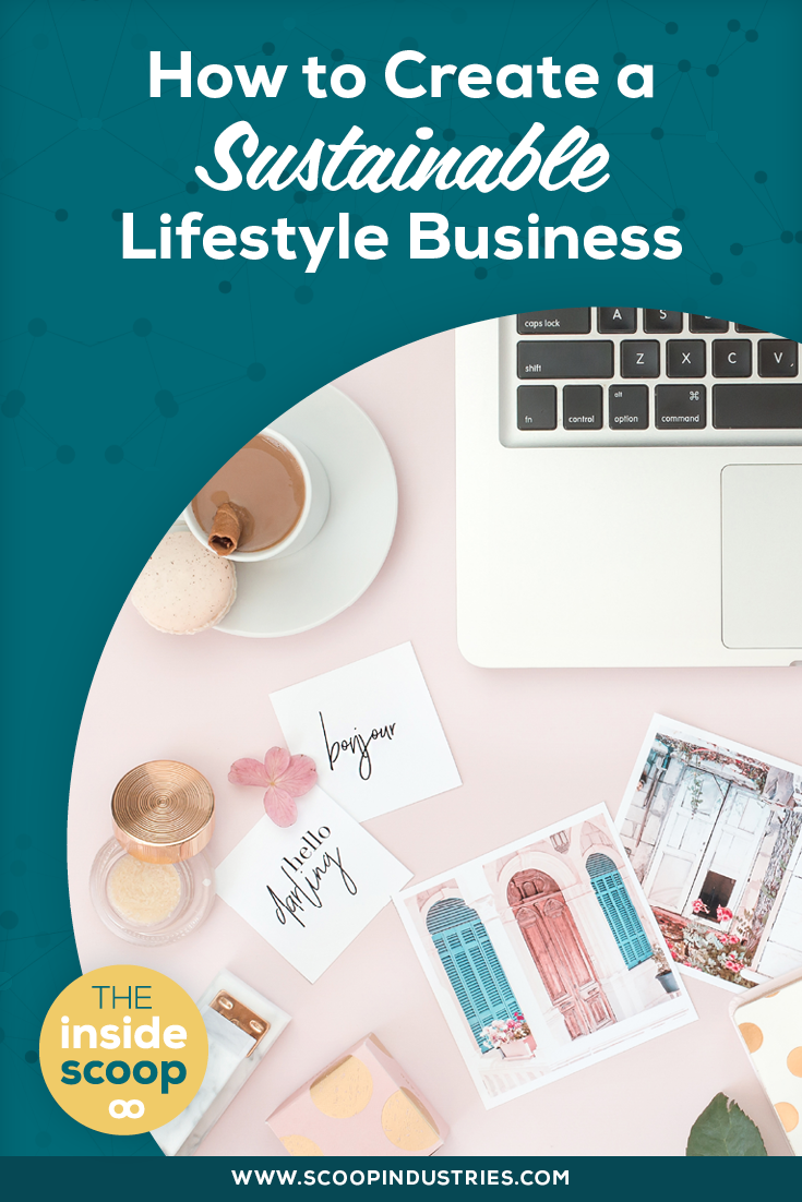 As a business owner, what does success mean to you? Narrowing in on what matters most to you will stop you from always feeling behind or inadequate. Pin this post to read about how to create a sustainable lifestyle business (even if you don't think you have one).