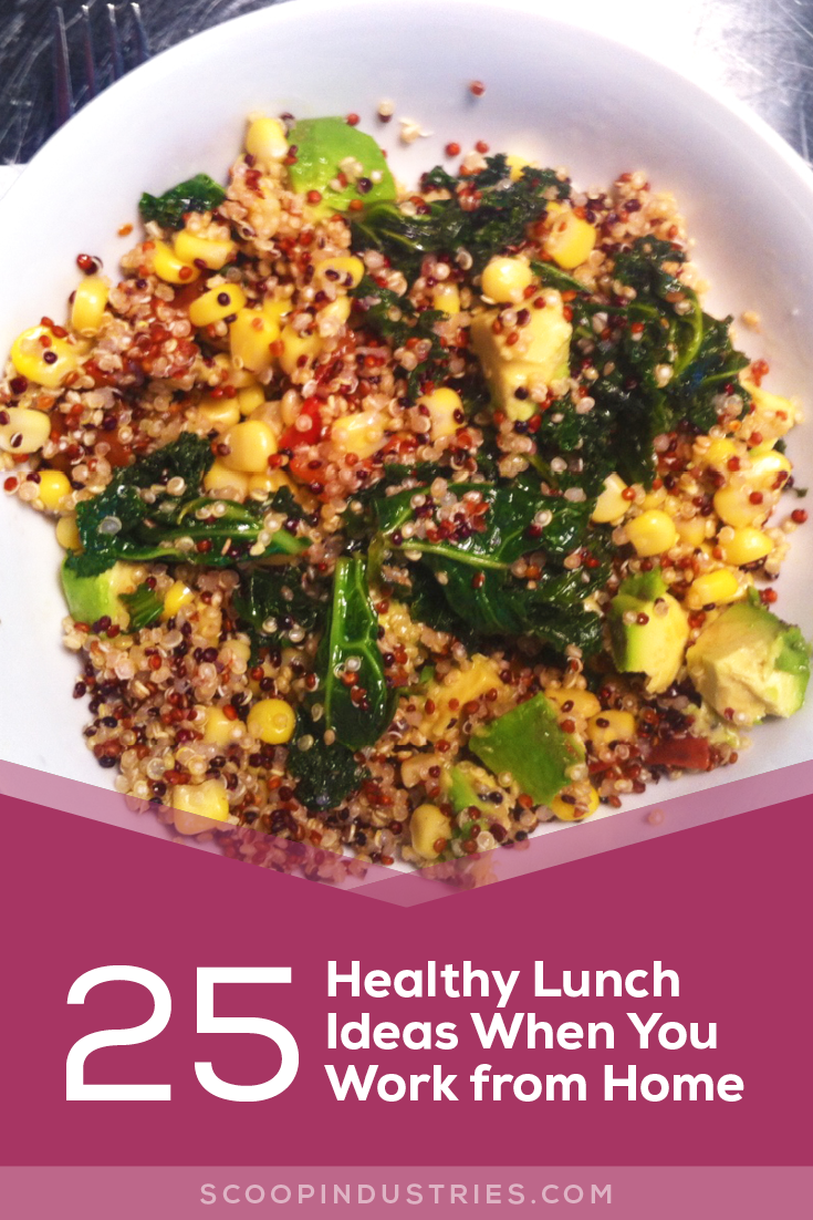 Healthy Lunch Ideas When You Work From Home Scoop Industries