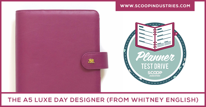 Planner Test Drive: Review of the A5 Luxe Day Designer