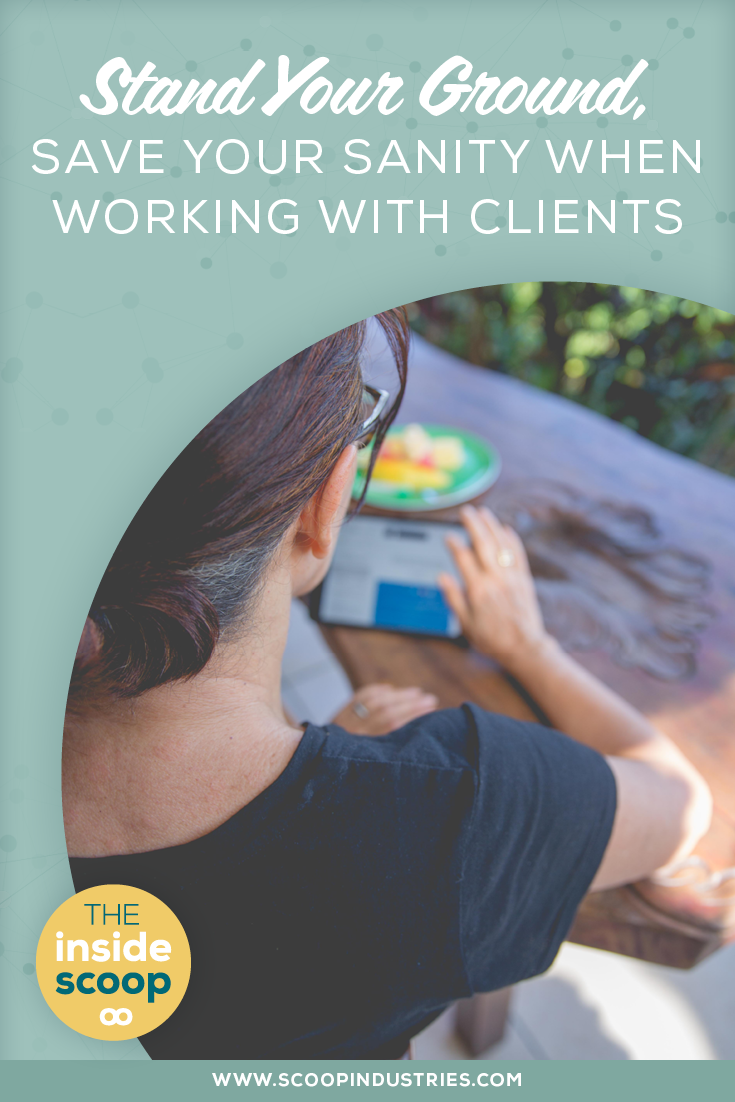 Being of service to your clients can