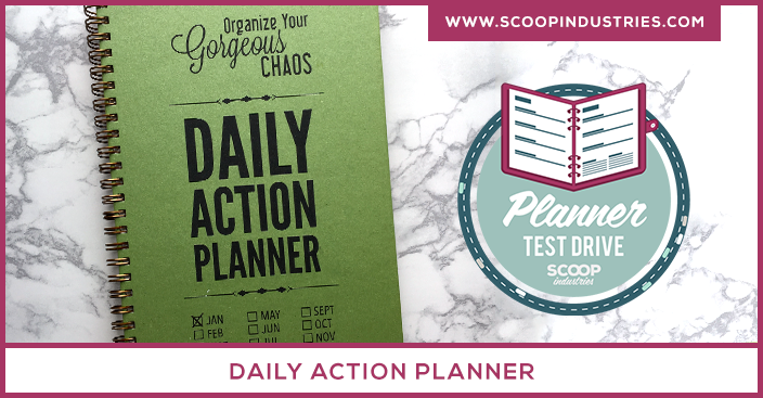 When you run your own business your daily to-do list can be a mile long and hard to manage. So how do you make sure you're keeping track of everything without resorting to 40 Post Its on your bulletin board? A day planner may be just what you need. Check out our Planner Test Drive where we look at the Daily Action Planner to see if it's just what you've been looking for. https://scoopindustries.com/daily-action-planner/