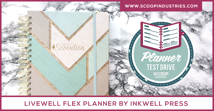 Planner Review: liveWELL Planner from Inkwell Press