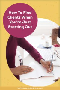 Check out our three best tips on how to find clients. *Pin this post for later*