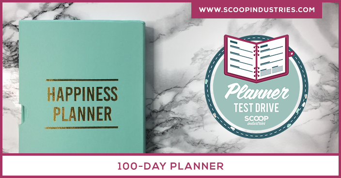 Planner Review: The 100-Day Happiness Planner