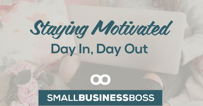 Running a small business is a marathon, not a sprint, which means pacing yourself is crucial. So where you find the motivation to keep doing the less-than-thrilling tasks day after day? Check out these ideas for getting and staying motivated.