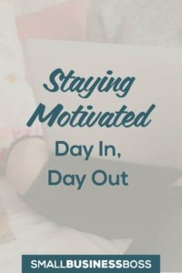 The day-to-day monotony of running a services business can be a real grind and it's hard to not feel a little bored sometimes. So how you break out of your rut? Here are some ideas on how to get (and stay!) motivated with your business. *Pin this post for later*