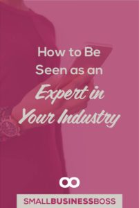 Building a reputation as an expert in your industry takes time and effort but how to make it happen isn't always clear. Here are three ways to get on your way to being seen as an expert in your industry. *Pin this post for later*