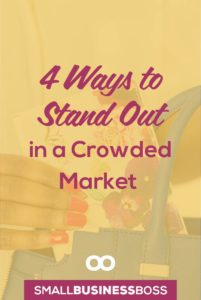 When your small business is one in a sea of a hundred who all offer the same services, it's not always easy to showcase what makes you special. *Pin this post for four ways to stand out in a crowded market*