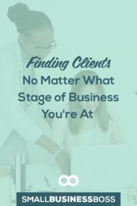 When business is going great it's easy to think you've got things under control, but when the latest project ends, what comes next? Do you already have new clients lined up? As a small business boss, you can't wait for opportunity to knock. *Pin this post for ideas of where to find clients no matter what stage of business you're in.*
